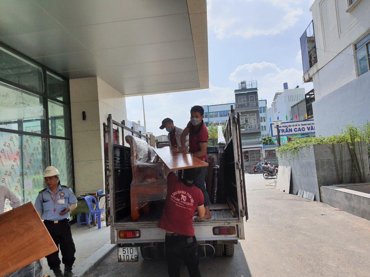 Dịch vụ chuyển nhà trọn gói Huyện Bình Chánh