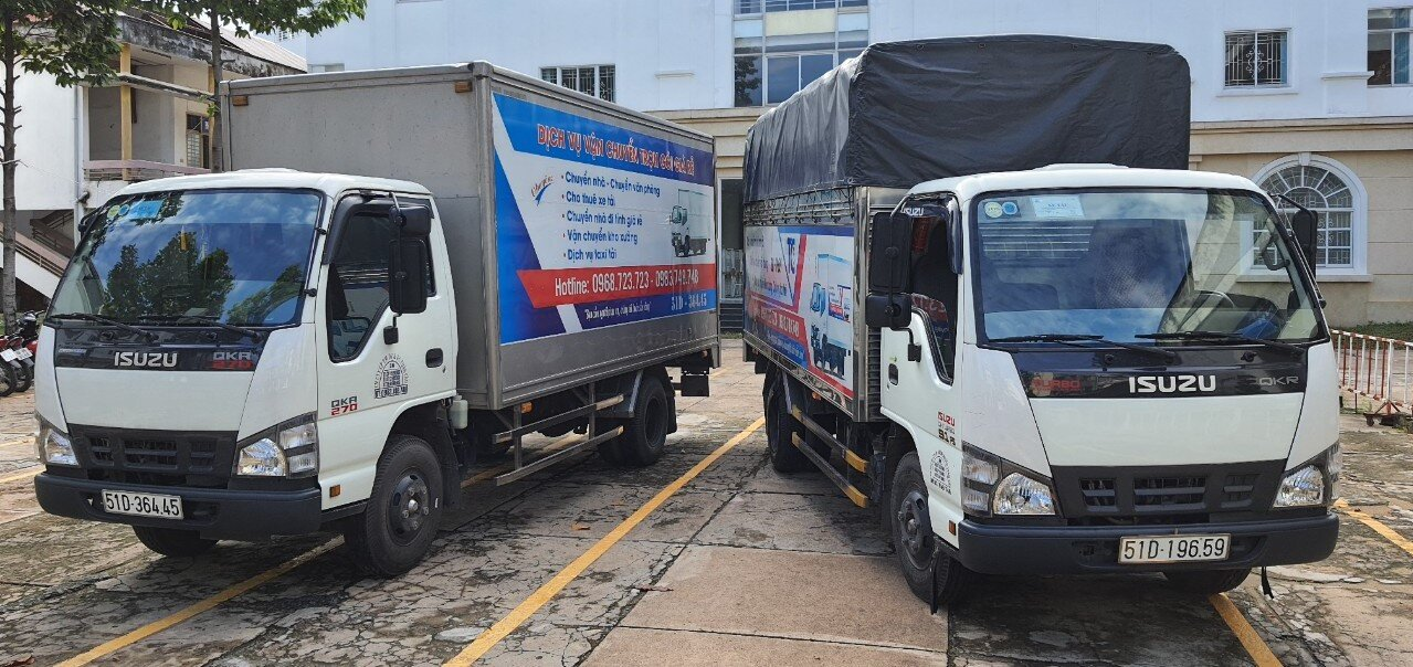 Dịch vụ cho thuê xe tải chuyển nhà giá rẻ